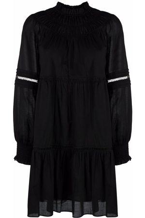 Michael Kors Ruched funnel-neck shirt dress