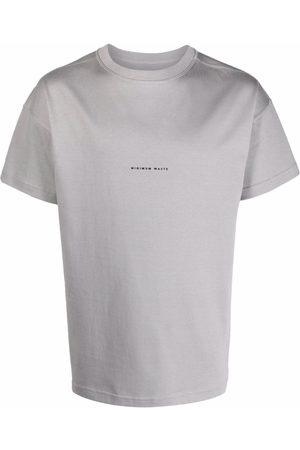 Styland Slogan organic cotton T-shirt - Grey