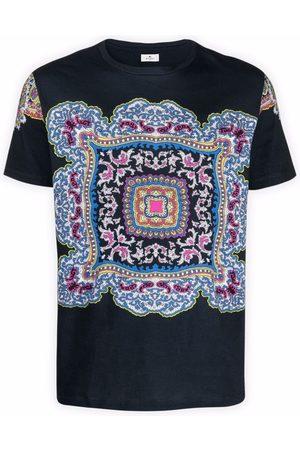 Etro Paisley crew-neck T-shirt