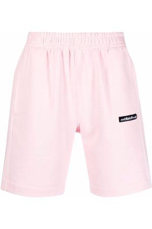 Styland Logo-patch track shorts
