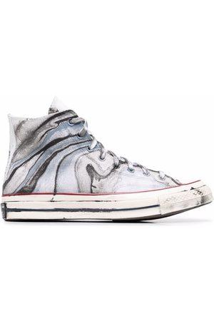 Converse Sneakers - Chuck 70 marble-print sneakers - GREY MULTI