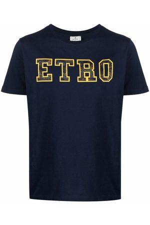 Etro Men T-shirts - Logo crew-neck T-shirt