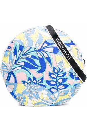 Emilio Pucci Floral-print circle shoulder bag