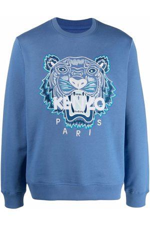 Kenzo Tiger head logo sweatshirt