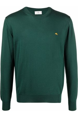 Etro Logo embroidered knit jumper
