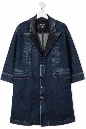 Balmain Denim blazer-coat