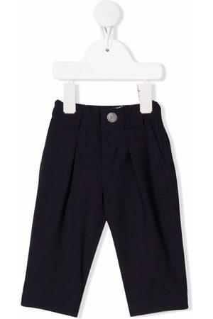 Balmain Tapered virgin wool-blend trousers
