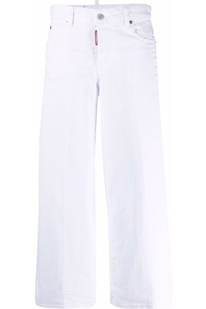 Dsquared2 Wide-leg cropped jeans
