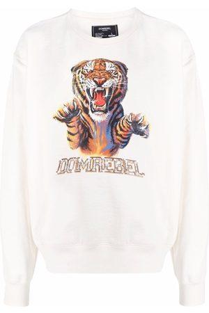DOMREBEL Rage graphic-print sweatshirt