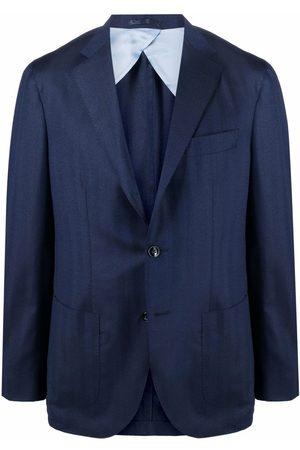 BARBA Lello single-breasted blazer