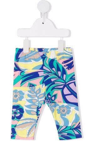Emilio Pucci Baby Leggings - Samoa-print leggings