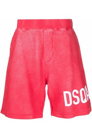 Dsquared2 Men Sports Shorts - Logo-print track shorts