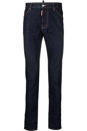 Dsquared2 Logo-print skinny-cut jeans