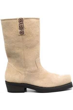 OUR LEGACY Ankle Boots - Square-toe ankle boots - Neutrals
