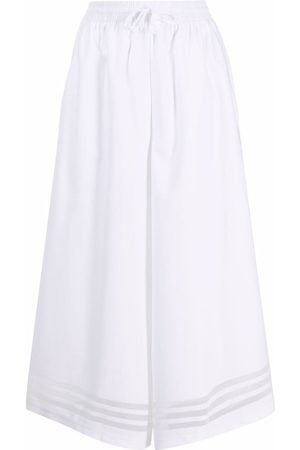 adidas Sheer-panelled wide-leg trousers