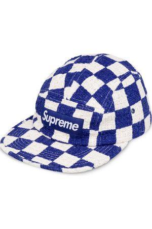 Supreme Caps - Checkerboard Boucle camp cap