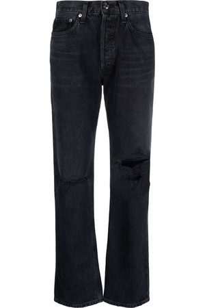 AGOLDE Ripped-detail denim jeans