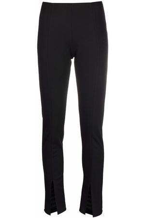 Alchemy Women Skinny Pants - Front-slit slim-fit trousers