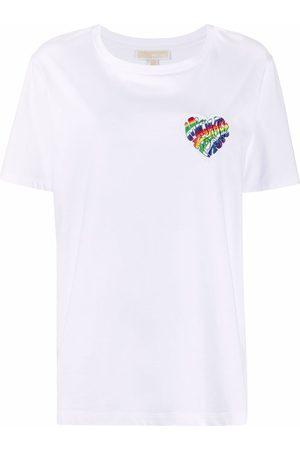 Michael Kors Logo-patch organic cotton T-shirt