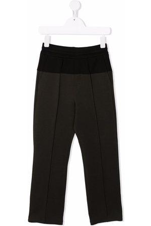 Emporio Armani Boys Skinny Pants - High-waist slim-fit trousers