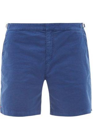 Orlebar Brown Dane Cotton-blend Twill Shorts - Mens - Dark