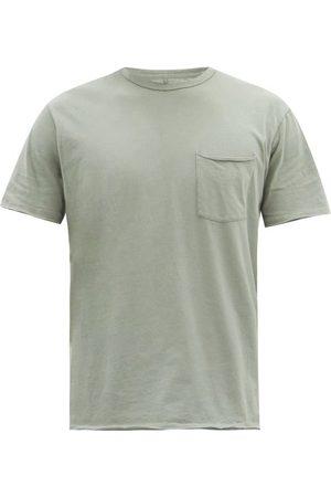 RAG&BONE Men T-shirts - Miles Organic Cotton-jersey T-shirt - Mens - Grey