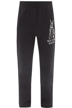 Billionaire Boys Club Bunnies Logo-print Cotton-jersey Track Pants - Mens