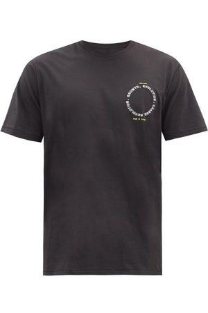 RAG&BONE Men T-shirts - Embroidered Organic Cotton-jersey T-shirt - Mens