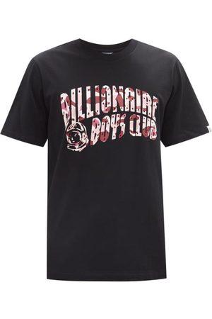 Billionaire Boys Club Men T-shirts - Camouflage Logo-print Cotton-jersey T-shirt - Mens