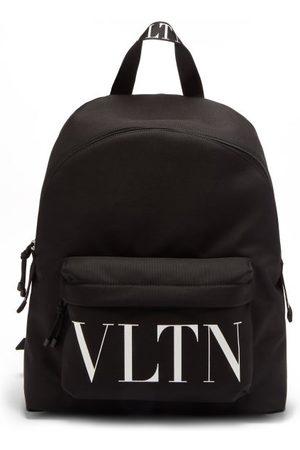 VALENTINO GARAVANI Vltn-logo Canvas Backpack - Mens