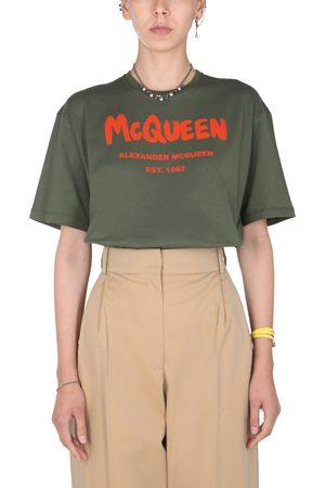 Alexander McQueen Women T-shirts - T-shirt girocollo