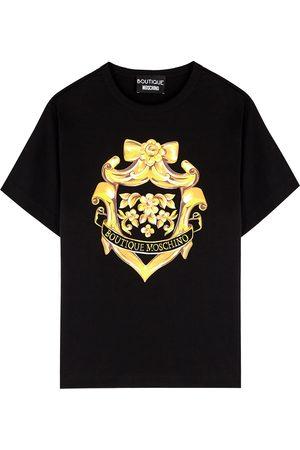 Moschino Women T-shirts - Printed cotton T-shirt