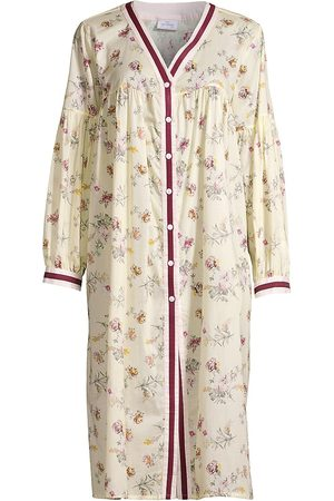 Pour Les Femmes Women Nightdresses & Shirts - Blossom Floral Cotton Nightgown