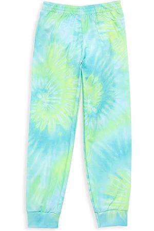 LITTLE PEIXOTO Little Girl's & Girl's Laggon Tie Dye Joggers - Tie Dye - Size 10