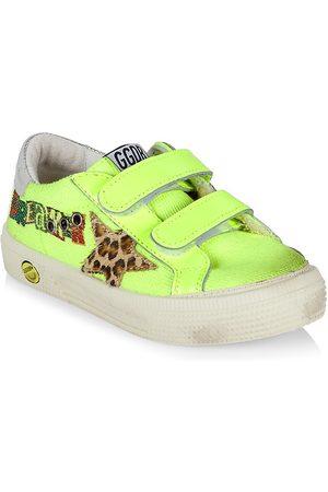 Golden Goose Little Girl's May Neon School Sneakers - Fluorescent - Size 10 (Toddler)