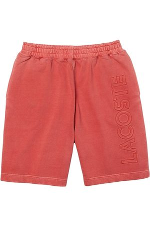 Lacoste Men's Embroidered Logo Fleece Shorts - Crater - Size Large