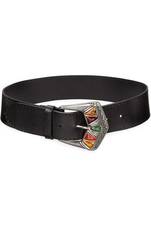 Etro Women's Leather Belt - - Size XXS