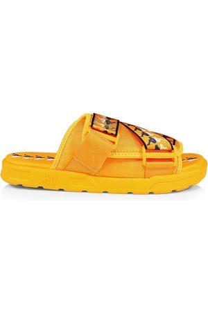Kappa Men's Banda Mitel Logo Web Slide Sandals - Violet - Size 12