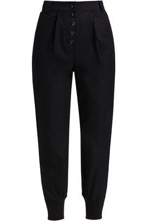 AJE Women's Chaise Button Front Pants - - Size 0
