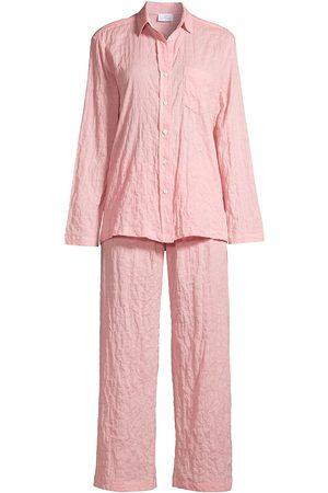 POUR LES FEMMES Women's Organic Japanese Cotton Pajama Set - - Size XL