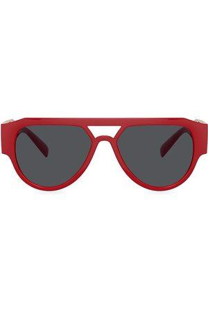 VERSACE Men Round - 57MM Round Sunglasses