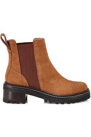 See by Chloé Women's Mallory Chelsea Boots - Tan - Size 11