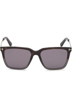 Tom Ford Men's Garrett 54MM Square Sunglasses - Havana Grey