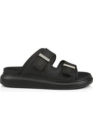 Alexander McQueen Men's Rubber Slide Sandals - - Size 7.5