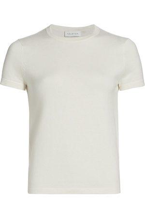 Halston Heritage Women's Serena Sweater T-Shirt - Eggshell - Size Small