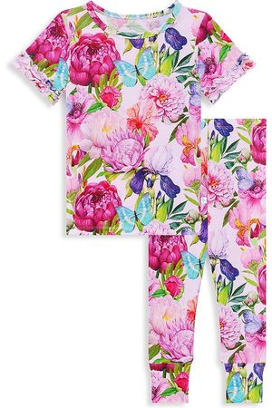 Posh Peanut Baby's, Little Girl's & Girl's Carrie Floral 2-Piece Pajama Set - - Size 6