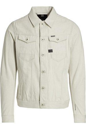 G-Star Men's Arc 3D Slim Jacket - Ecru - Size Medium