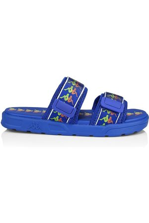 Kappa Men's Logo Strappy Sandals - Lime Coral - Size 11