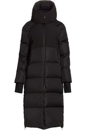 Moncler Women's Heliotrope Hooded Parka - - Size Large