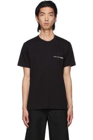 Comme des Garçons Men T-shirts - Black Logo T-Shirt